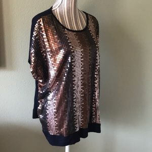 Alfred Dunner Tops - Alfred Dunner bling top